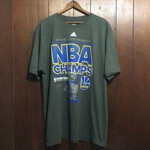 Golden State Warriors 2015 NBA Champions Shirt